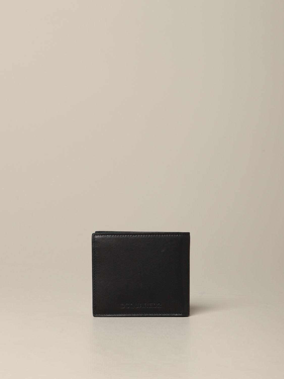 Portefeuille Dsquared2 avec imprimé Icon noir 3
