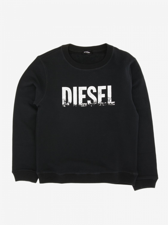 Maglia Diesel: Maglia Diesel con logo nero 1