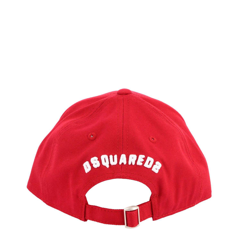 Gorro niños Dsquared2 Junior rojo 3