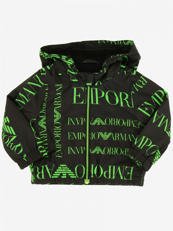 Coat Emporio Armani: Coat kids Emporio Armani black 1