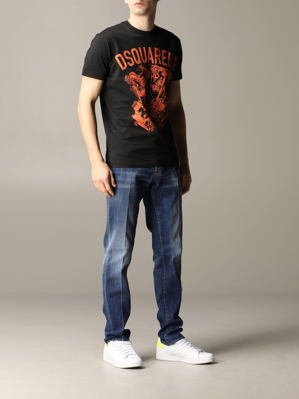 T恤 男士 Dsquared2 黑色 2