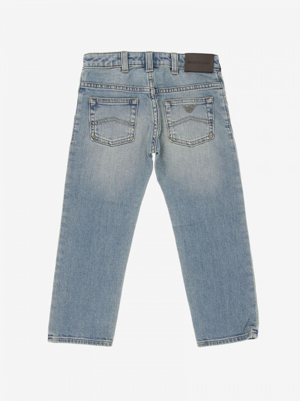 Pants kids Emporio Armani denim 2