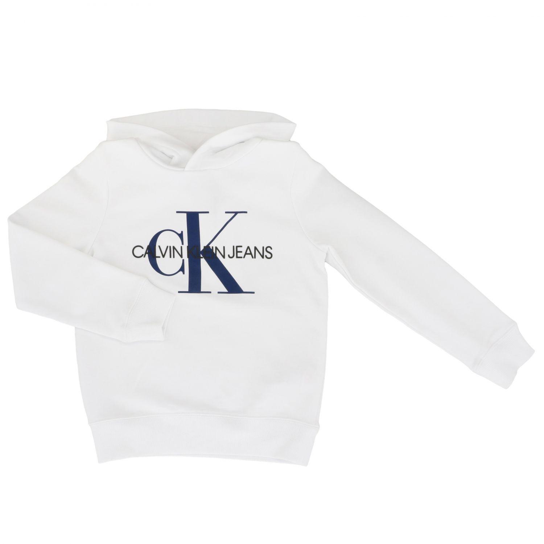 Jumper kids Calvin Klein white 1
