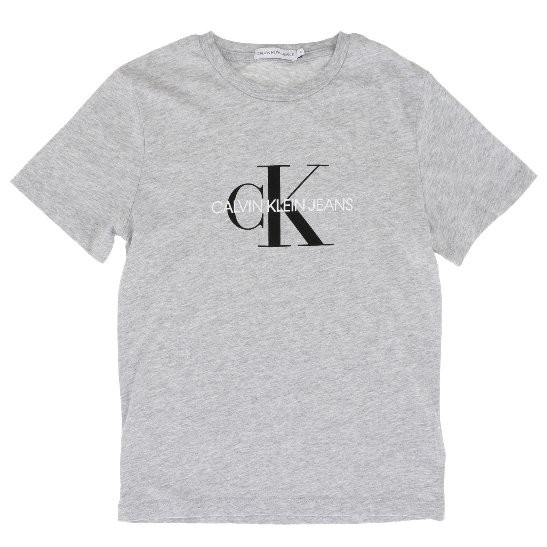 Camisetas Calvin Klein: Camisetas niños Calvin Klein naranja 1