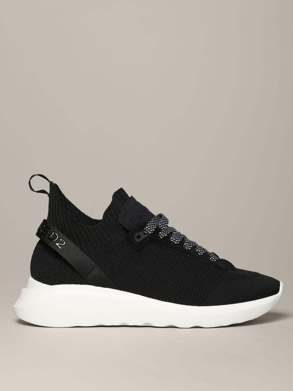 Zapatillas hombre Dsquared2 negro 1