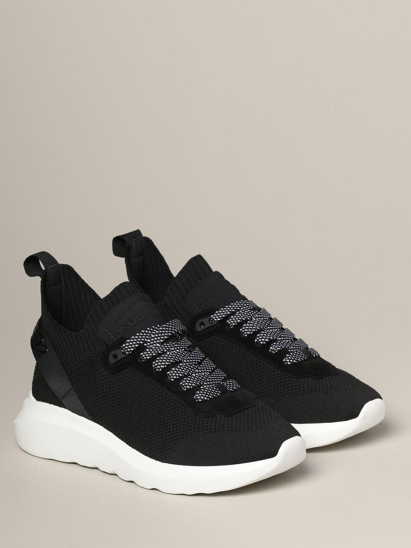 Zapatillas hombre Dsquared2 negro 2