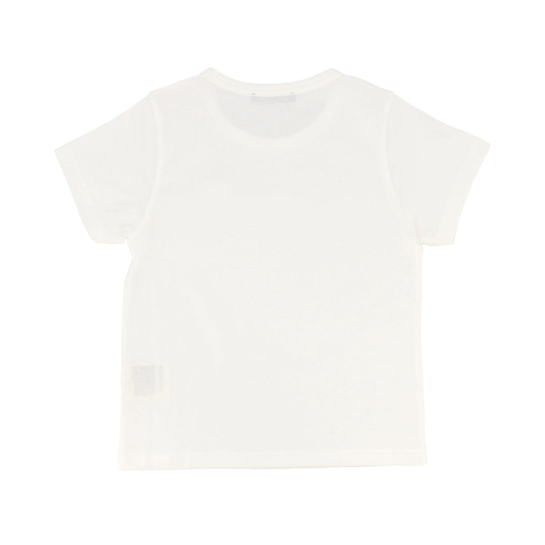 T-shirt Acne Studios: Acne Studios short-sleeved T-shirt with logo white 2