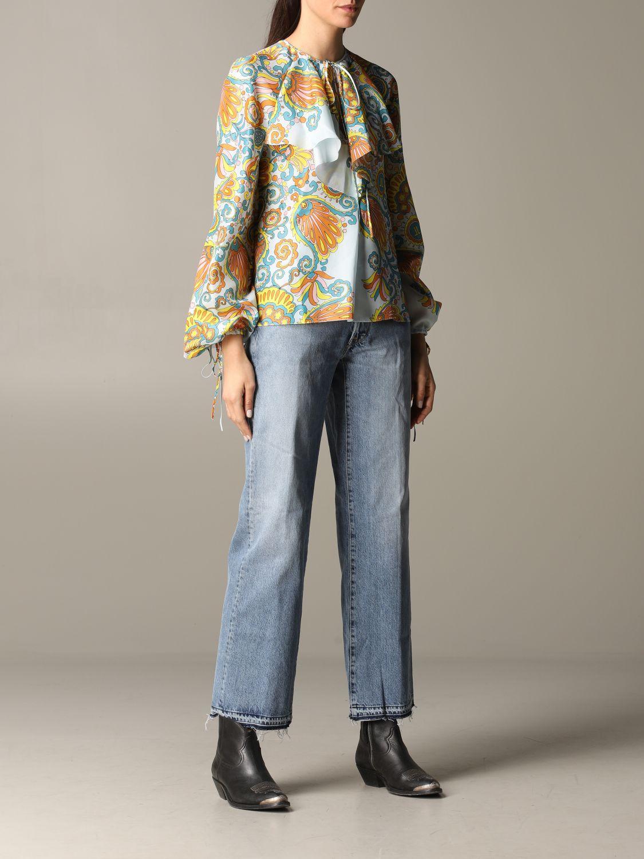 Golden Goose Jeans blau 2
