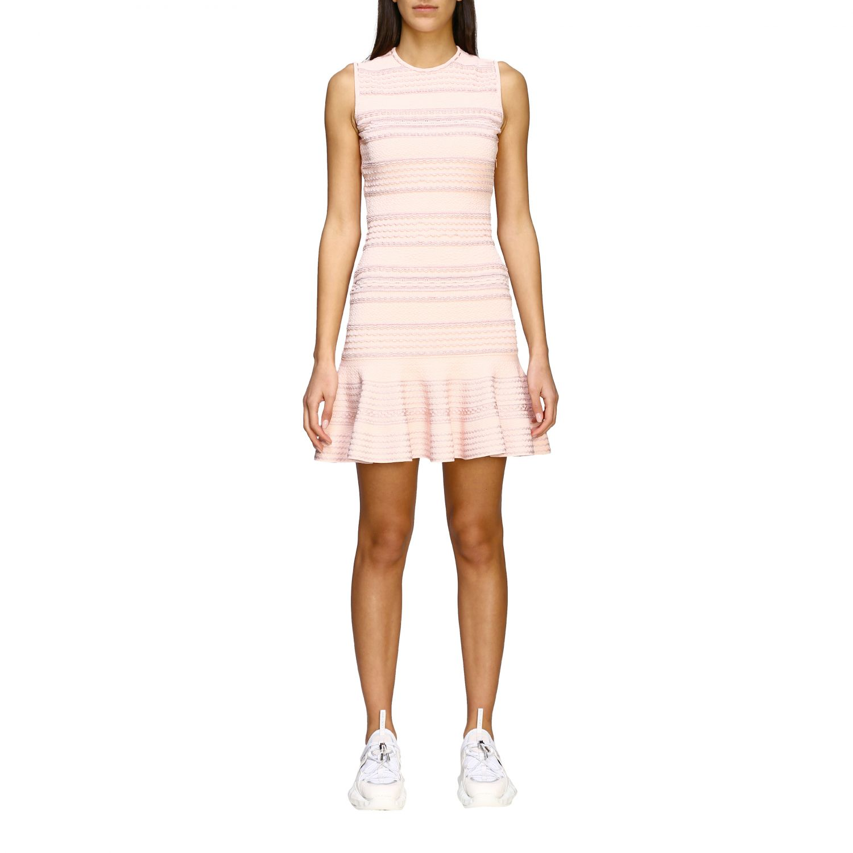 Dress Alexander Mcqueen: Dress women Alexander Mcqueen white 1