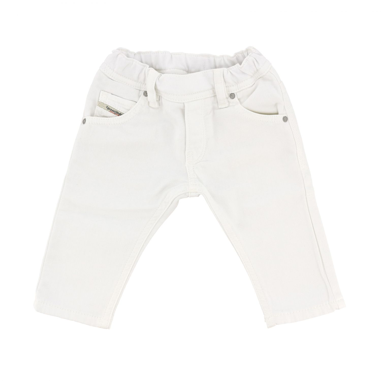 Diesel 5-pocket jeans white 1