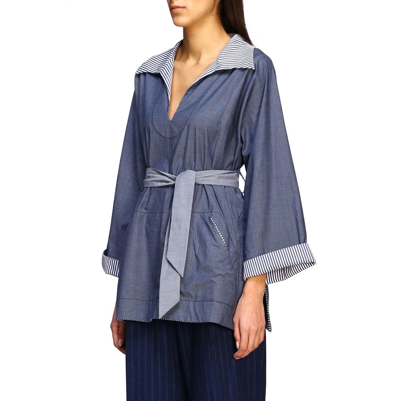 Shirt Antonio Marras: Shirt women Antonio Marras blue 4
