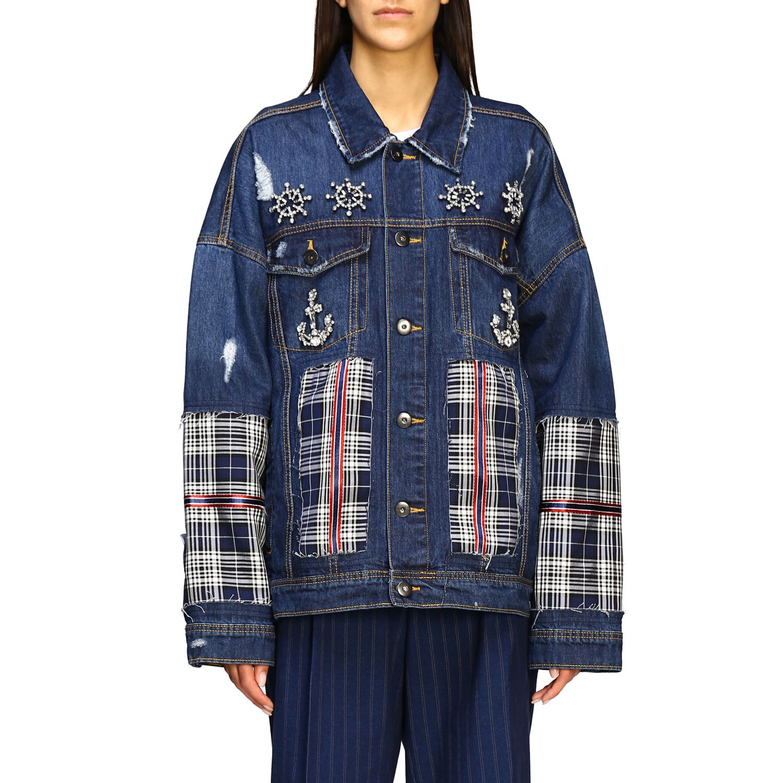 Jacket Antonio Marras: Jacket women Antonio Marras denim 1