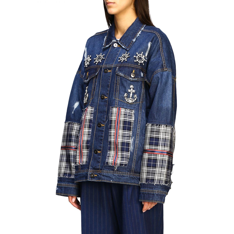 Jacket Antonio Marras: Jacket women Antonio Marras denim 4