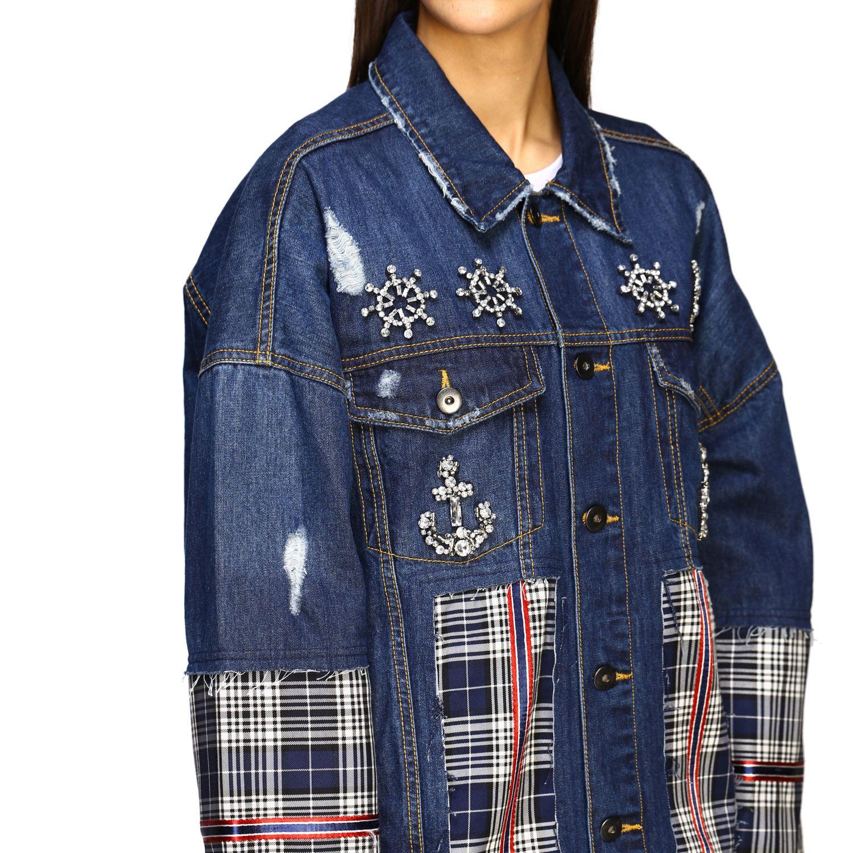 Jacket Antonio Marras: Jacket women Antonio Marras denim 5