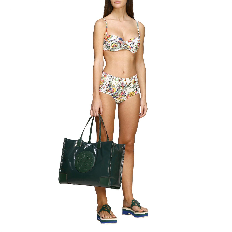 Tory Burch Bikini Oberteil mit Blumenmuster bunt 2
