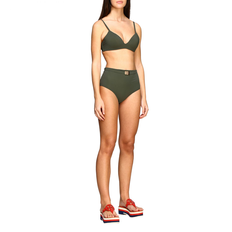 Swimsuit women Tory Burch green 2