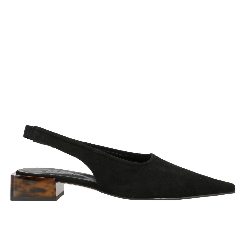 High heel shoes Ganni: Ballet pumps women Ganni black 1