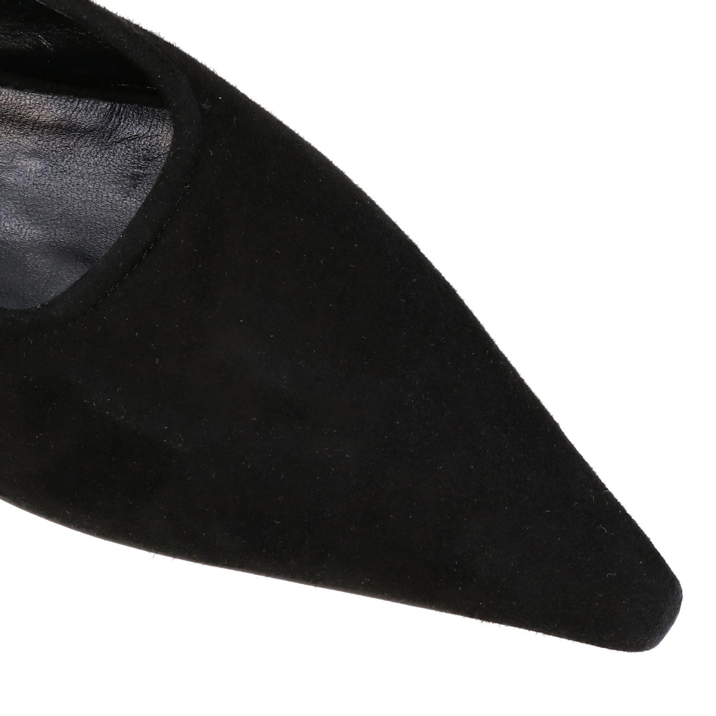 High heel shoes Ganni: Ballet pumps women Ganni black 4