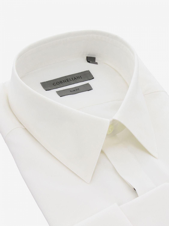 Shirt Corneliani: Shirt men Corneliani white 2