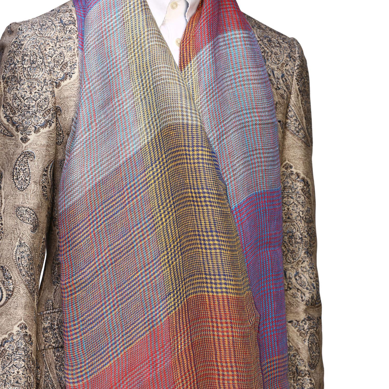 Écharpe à motif Etro multicolore 3
