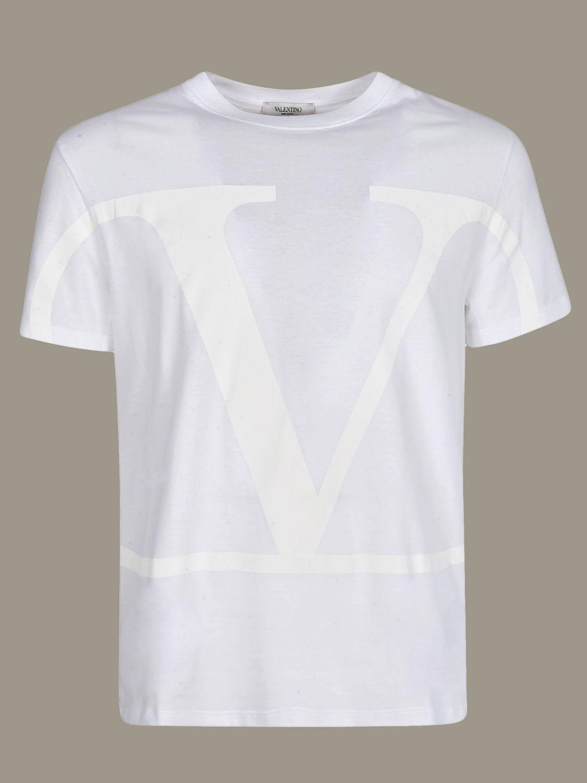 T-shirt men Valentino white 1 2