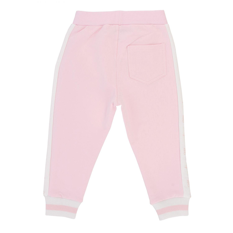 Trousers kids Monnalisa Bebe' pink 2