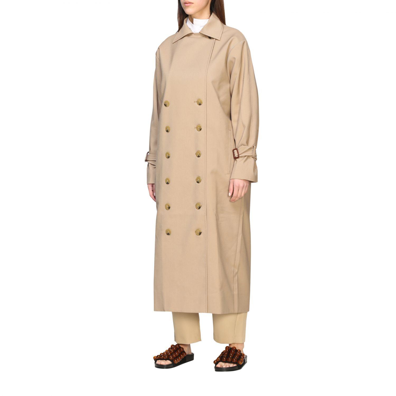 大衣 女士 Toteme 绿色 4