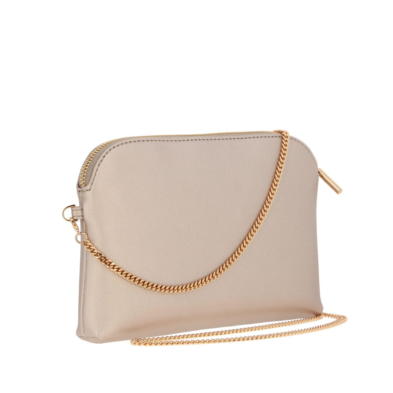 Liu Jo bag with patterned clutch bag gold 2