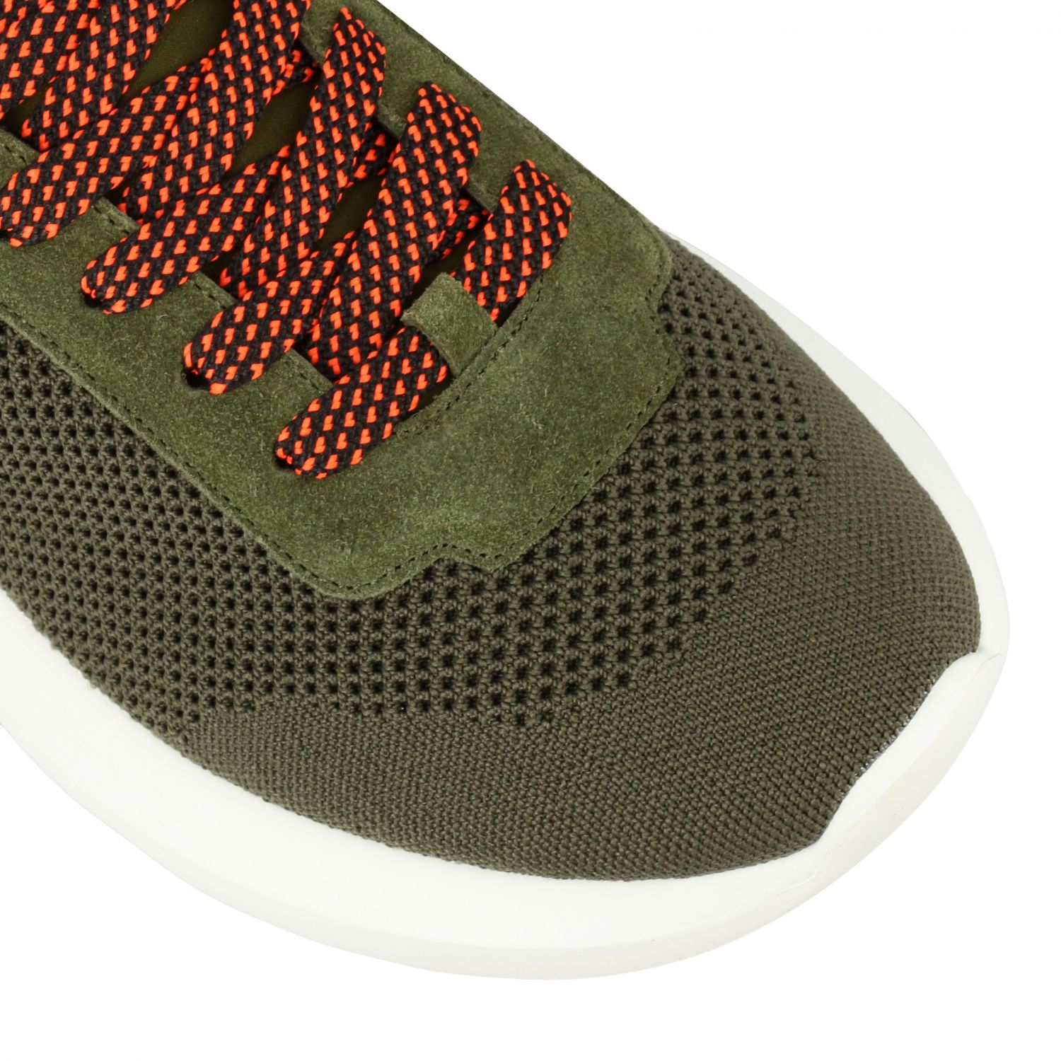 Sneakers Dsquared2: Dsquared2 slip on sneakers in mesh with logo military 4