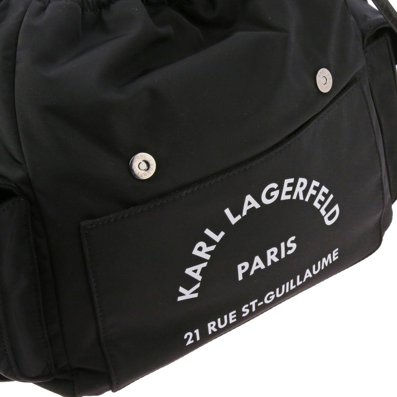 双肩包 女士 Karl Lagerfeld 黑色 5