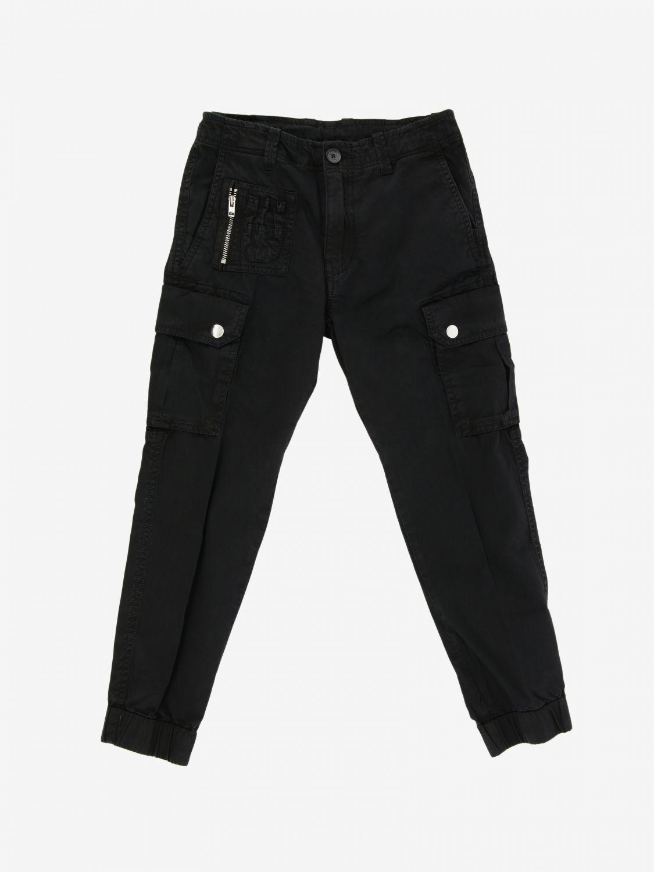 Pantalone Diesel: Pantalone Diesel Kargo con multi tasche nero 1