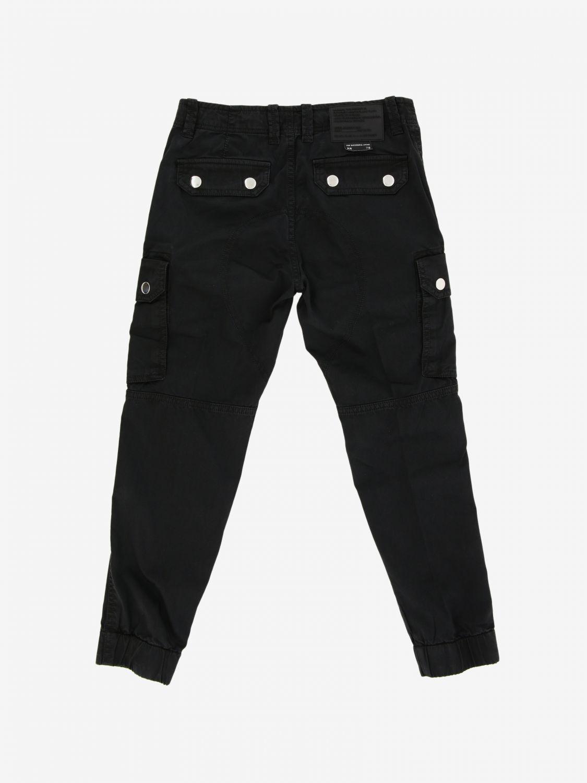 Pantalone Diesel: Pantalone Diesel Kargo con multi tasche nero 2