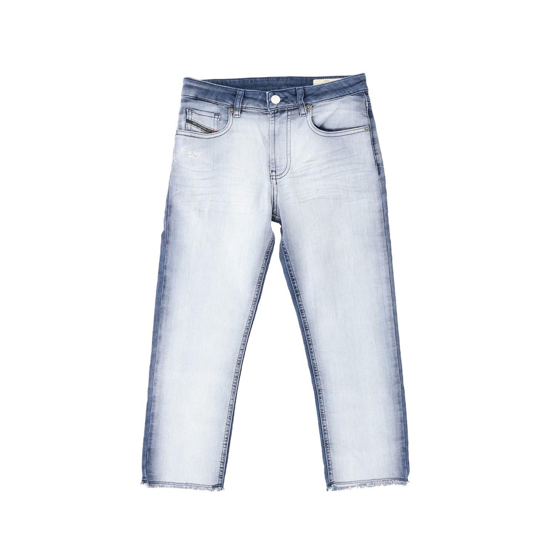 Jeans Diesel: Jeans Diesel in denim used effetto bicolor blue 1