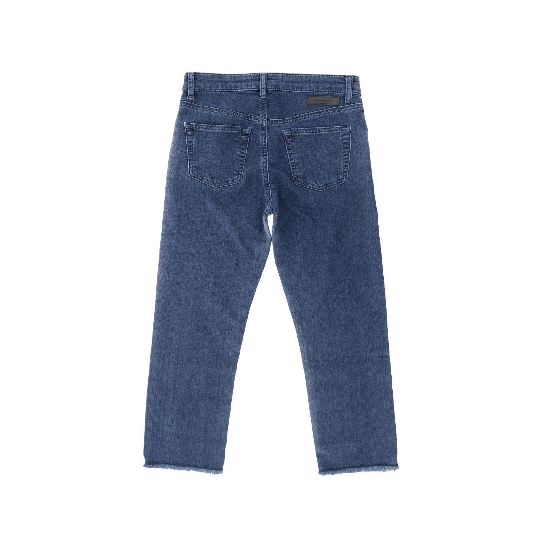 Jeans Diesel: Jeans Diesel in denim used effetto bicolor blue 2