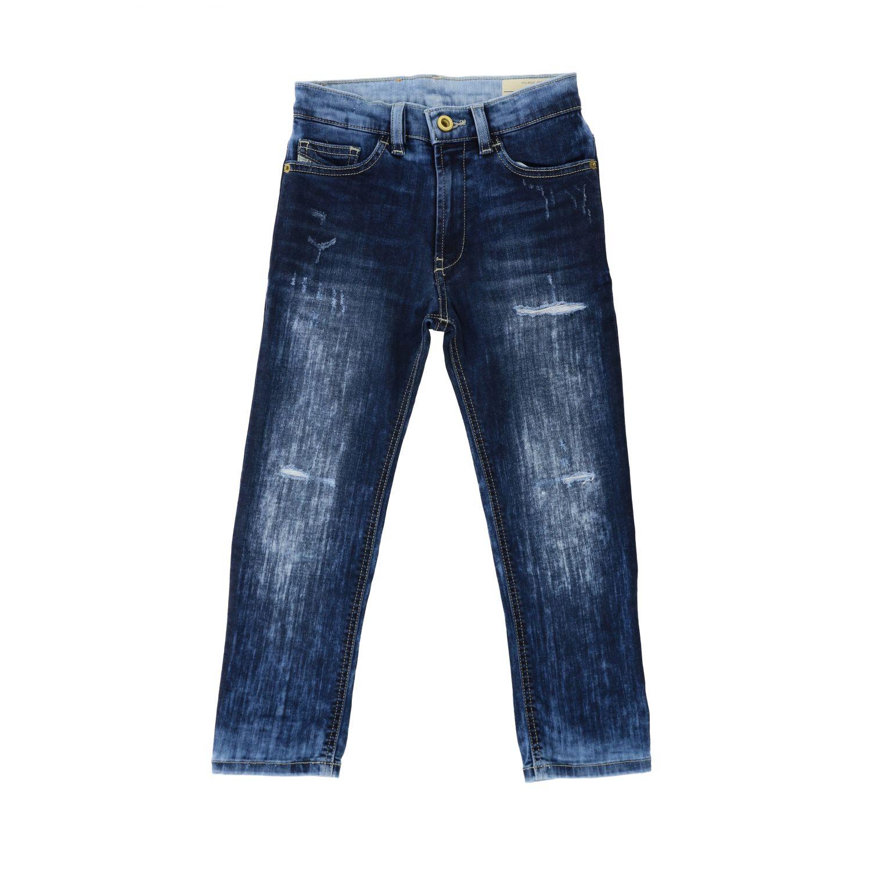Jeans Diesel: Jeans Diesel in denim used con rotture blue 1