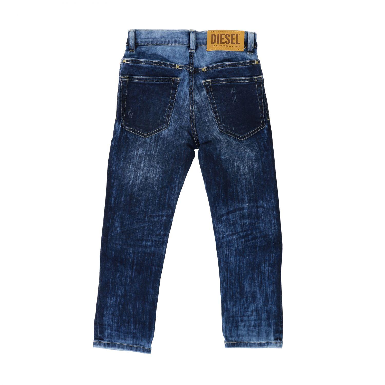 Jeans Diesel: Jeans Diesel in denim used con rotture blue 2
