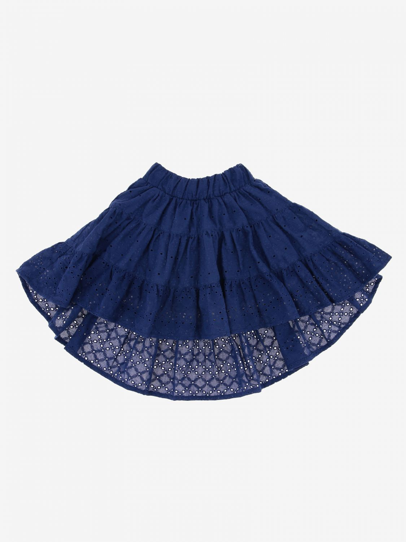 Skirt kids Monnalisa blue 1