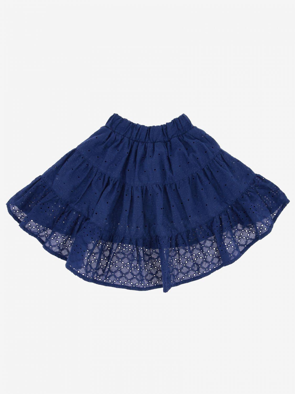 Skirt kids Monnalisa blue 2