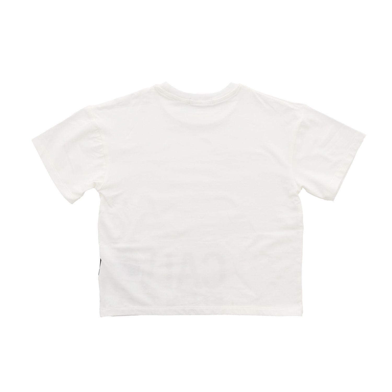 T-shirt Calvin Klein: T-shirt Calvin Klein a maniche corte con stampa logo bianco 2