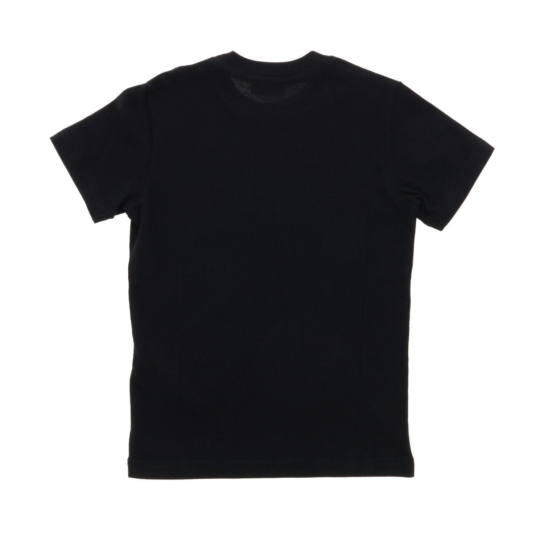 T-shirt Diesel: T-shirt Diesel a maniche corte con logo nero 2