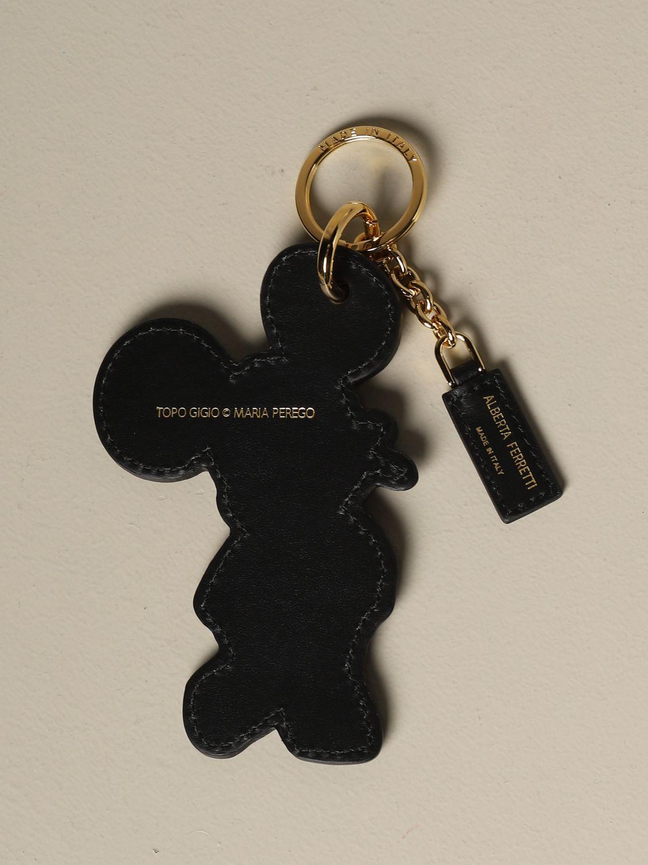 Key chain Alberta Ferretti: Key chain women Alberta Ferretti black 2
