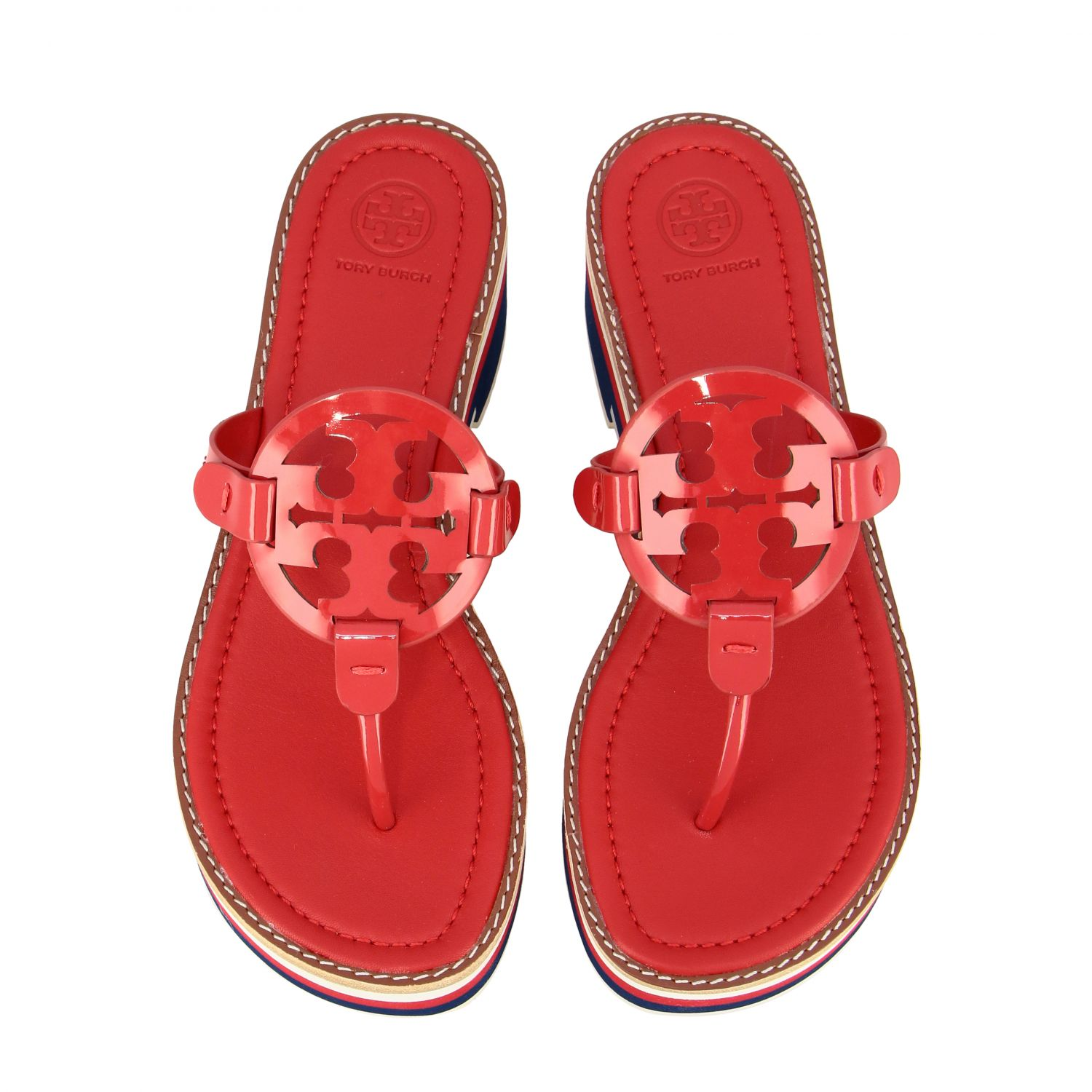 Chaussures femme Tory Burch rouge 3