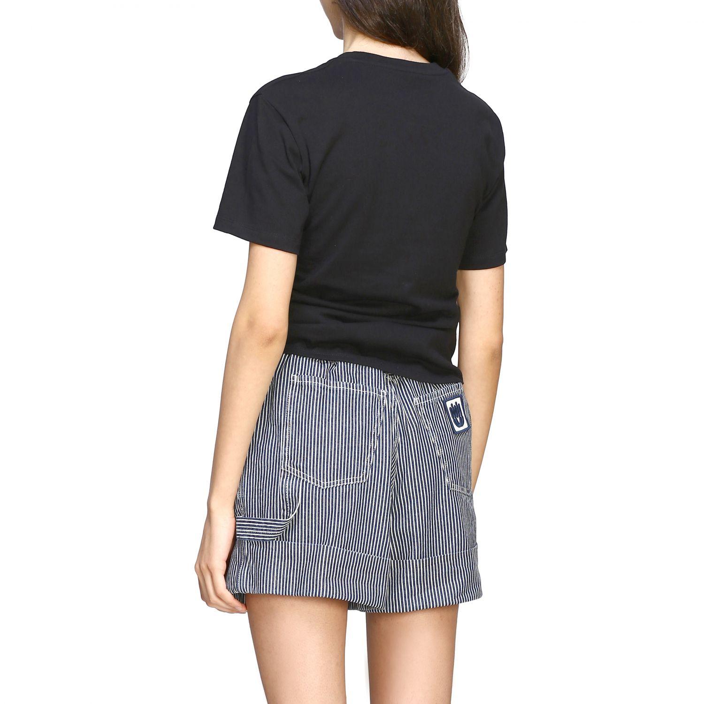 T-shirt women Paco Rabanne black 3