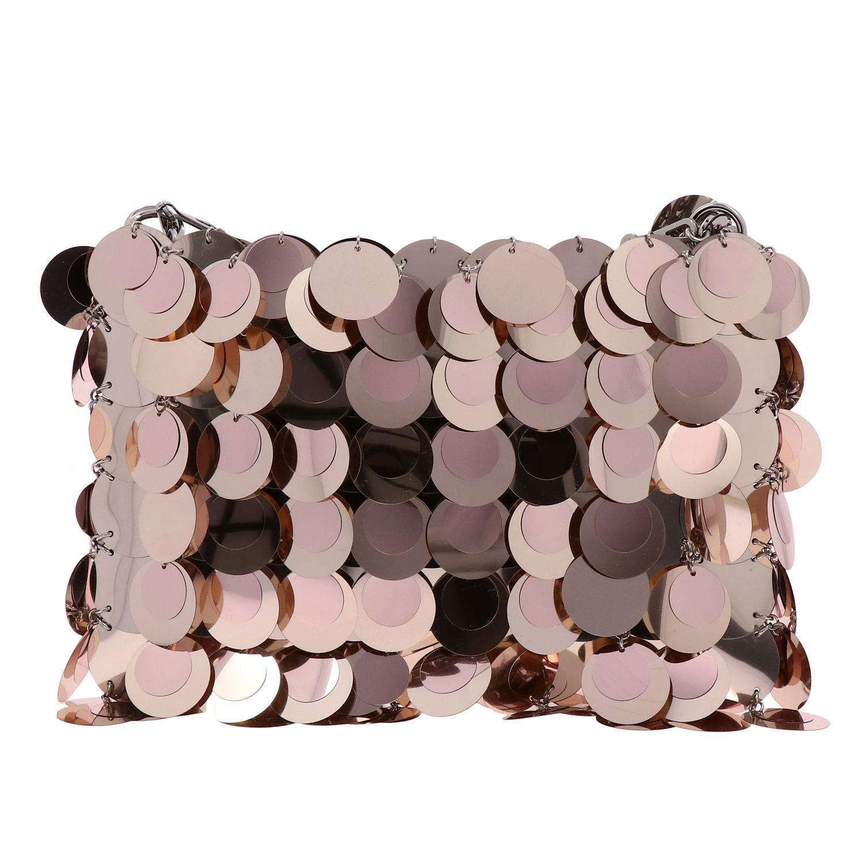 Наплечная сумка Женское Paco Rabanne розовый 1