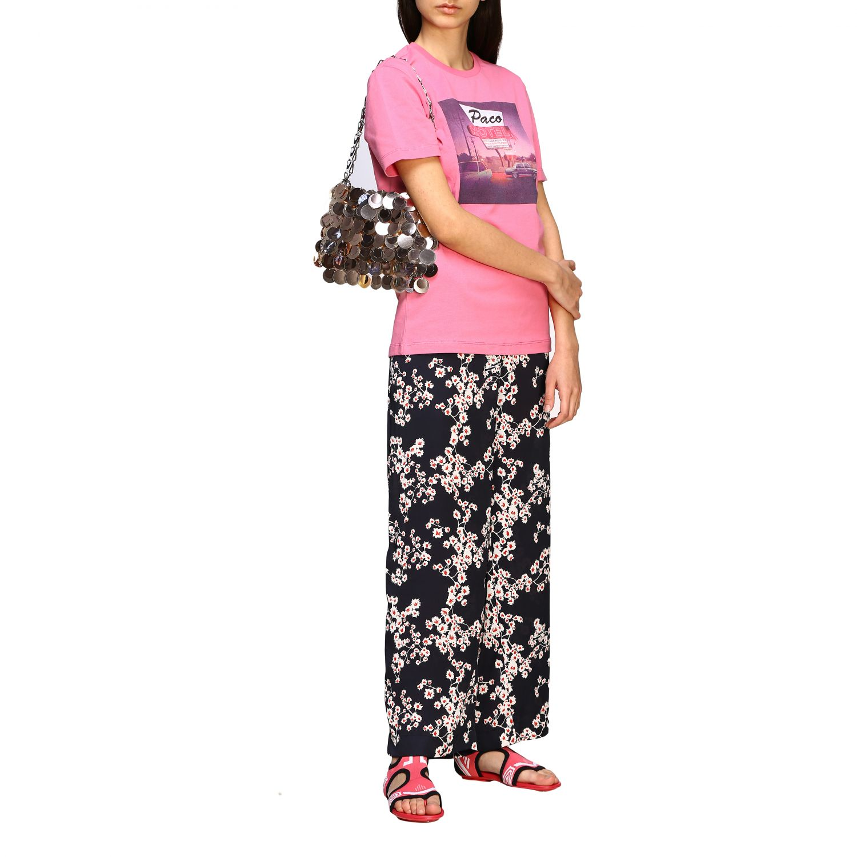 Наплечная сумка Женское Paco Rabanne розовый 2
