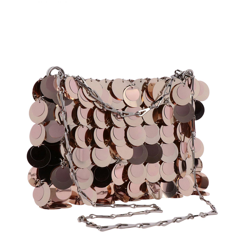 Наплечная сумка Женское Paco Rabanne розовый 3