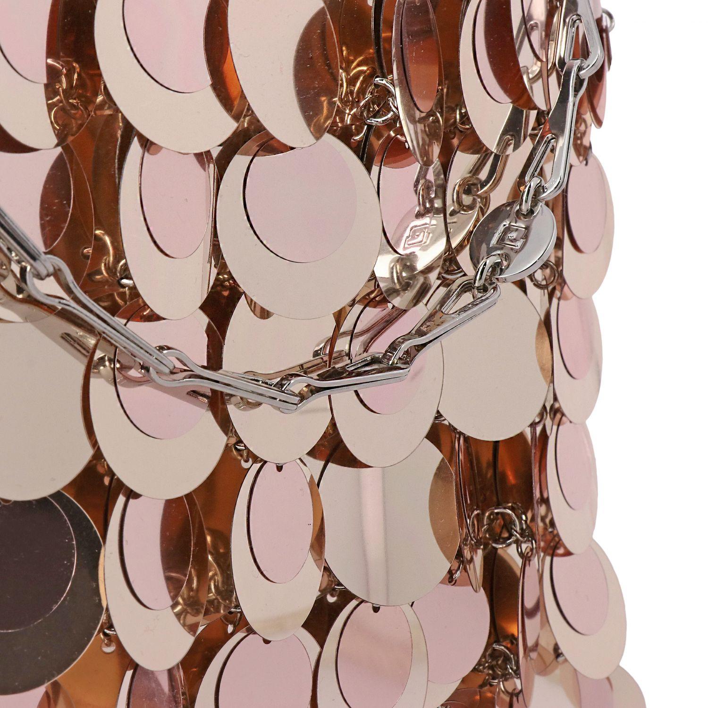 Наплечная сумка Женское Paco Rabanne розовый 4
