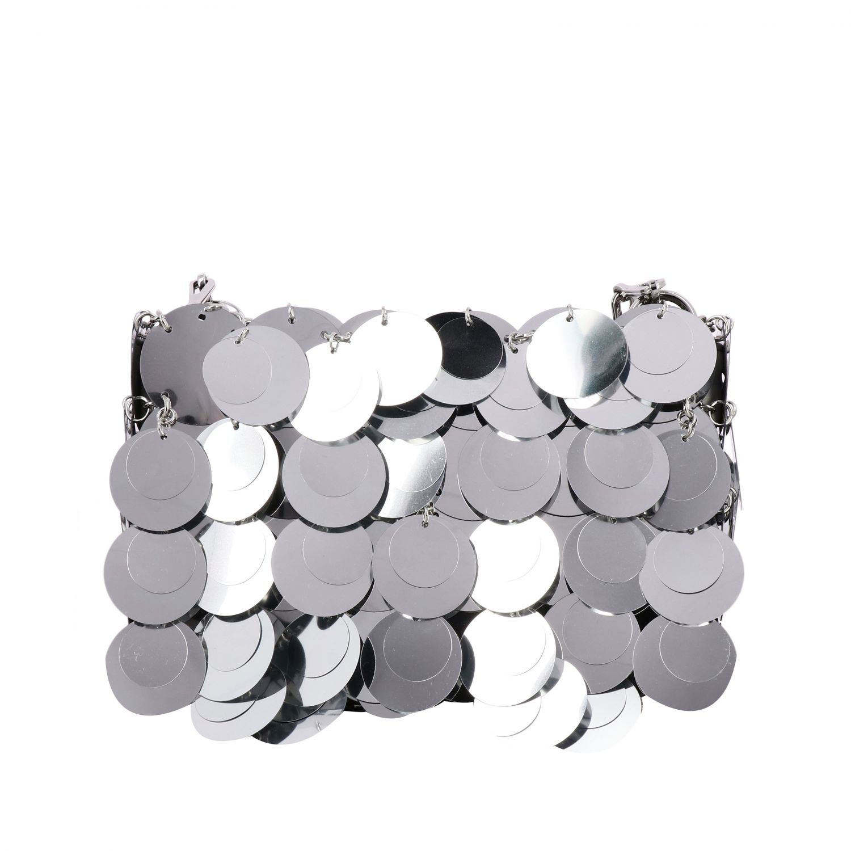 Наплечная сумка Женское Paco Rabanne серебряный 1