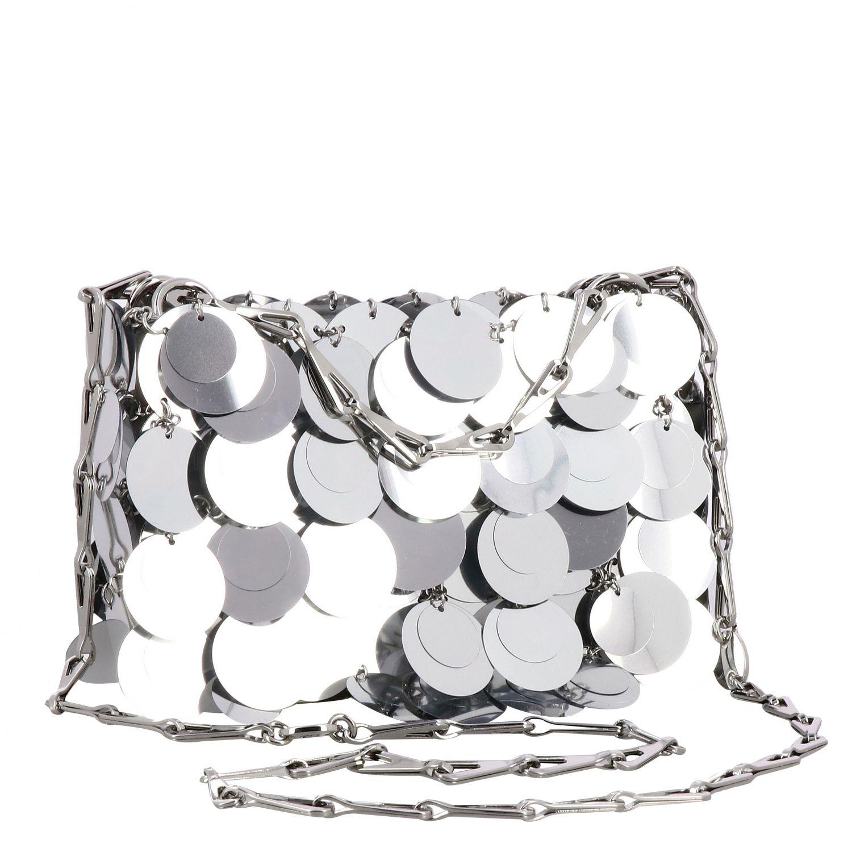 Наплечная сумка Женское Paco Rabanne серебряный 3