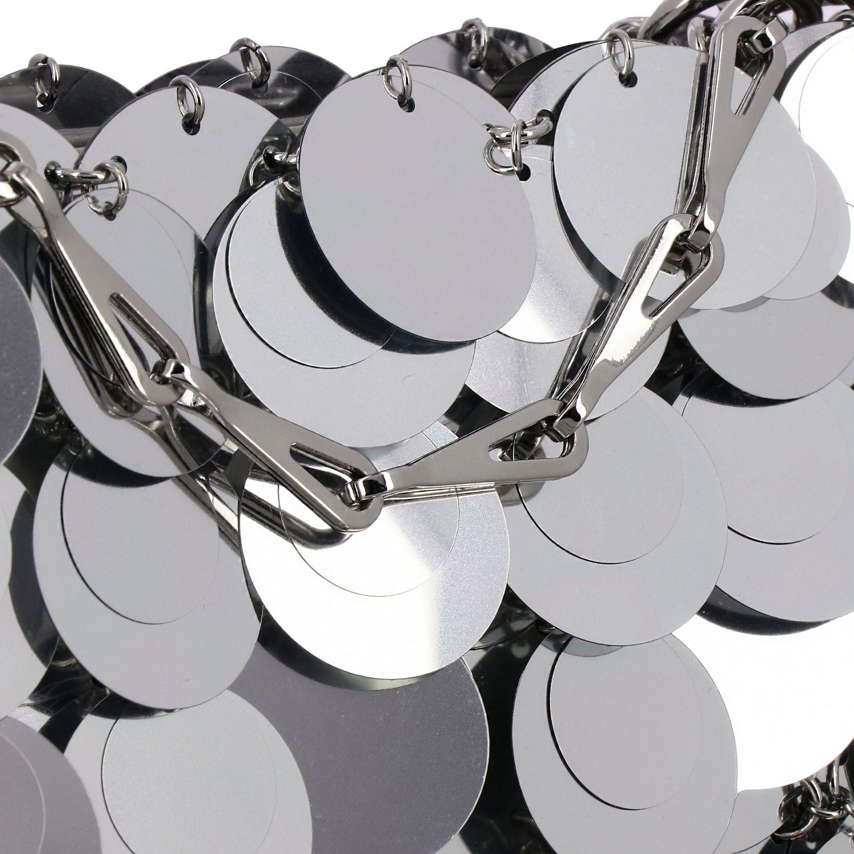 Наплечная сумка Женское Paco Rabanne серебряный 4